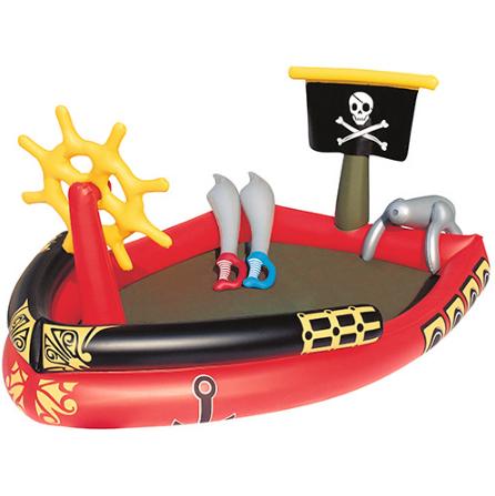 Детский надувной бассейн Bestway 53041, Пиратский корабль ***