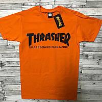 Футболка Thrasher Skateboard Magazine logo | Оригинальная бирка, фото 1