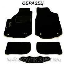 Ворсовые коврики в салон Nissan X-Trail (T30) 2001-2007 (STINGRAY) FORTUNA BLACK