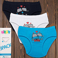 Детские трусики плавки для мальчика Domi Турция 72250-5 | 3 шт.
