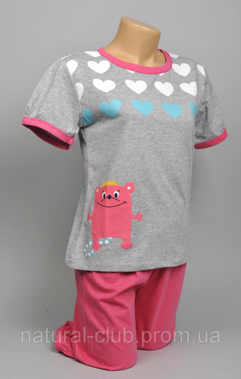 Пижама для девочек (котик) 8 шт