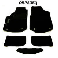 Ворсовые коврики в салон Nissan X-Trail (T31) МКП 2007-2013 (STINGRAY) FORTUNA BLACK