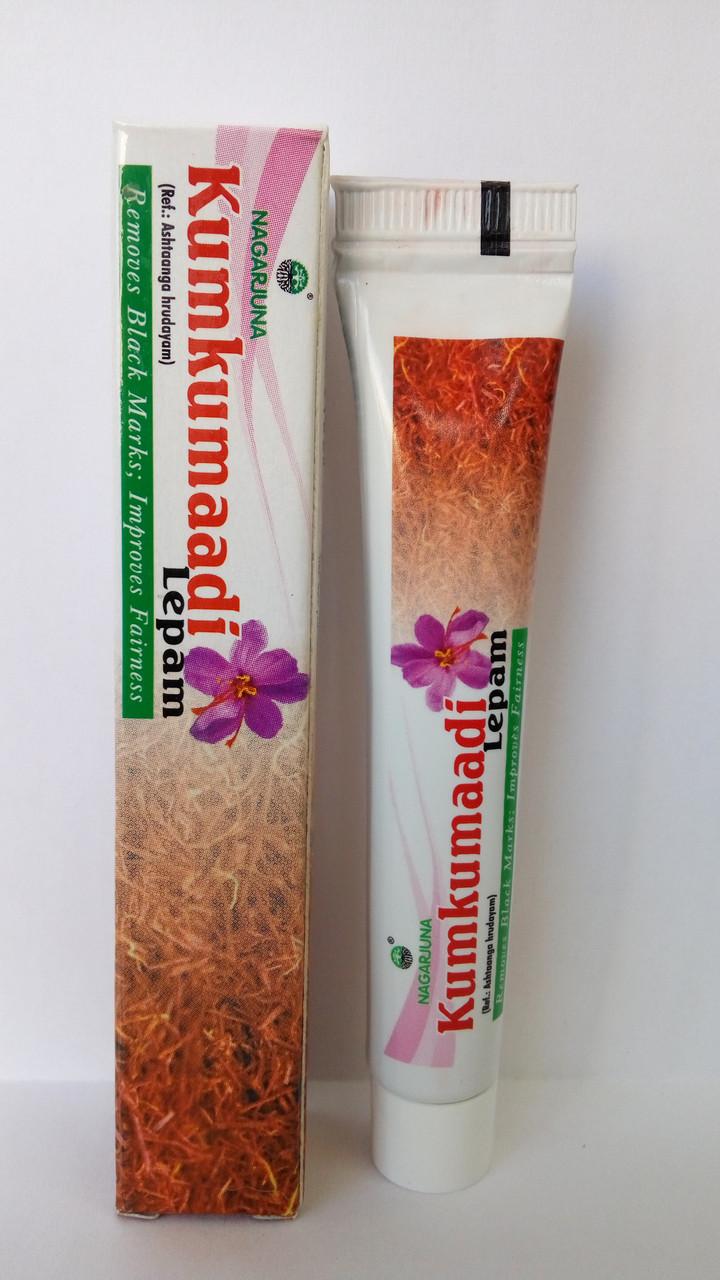 Кумкумади лепам, для сухой кожи с куркумой и шафраном kumkumadi lepam 10 g