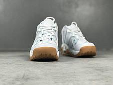 Мужские кроссовки Nike Air More Uptempo White/Light Blue/Gum 414 962 103, Найк Аир Мор Аптемпо, фото 3