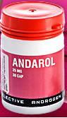 Андарол Andarol (30 capsules 25 mg) восстановление костных и мышечных тканей