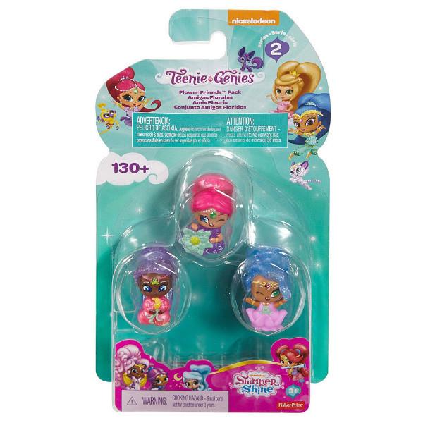 3-Pack Fisher-Price Nickelodeon Shimmer /& Shine Bath Squirters