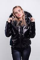 Женская короткая демисезонная куртка-пуховик