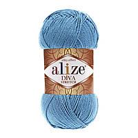 Alize Dіva Stretch - 245 голубой сочи