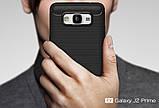 Противоударный бампер Primo Carbon Fiber Series для Samsung Galaxy J2 Prime (SM-G532F) - Black, фото 3