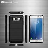 Противоударный бампер Primo Carbon Fiber Series для Samsung Galaxy J2 Prime (SM-G532F) - Black, фото 5