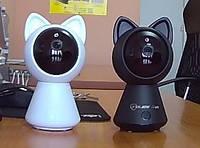 Беспроводная поворотная камера Кошечка Cat IPC-6025 Police Cam 2 мегапикселя