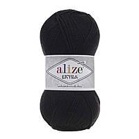Alize Extra - 60 черный