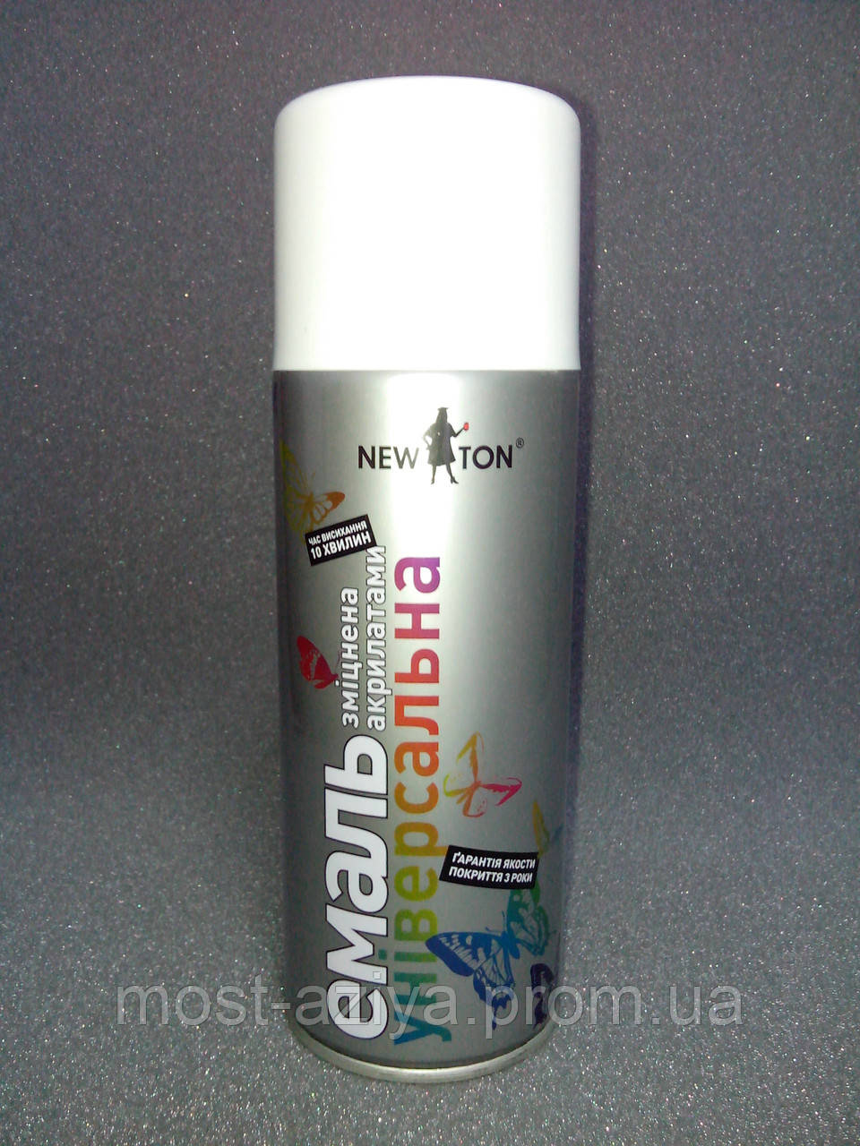 Краска белая (RAL 9003) для подкраски профнастила и металлочерепицы RAL 9003