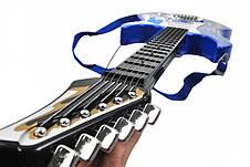 Детская электронная гитара Rock'n'Roll + усилитель + микрофон, фото 2