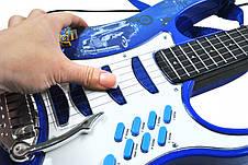 Детская электронная гитара Rock'n'Roll + усилитель + микрофон, фото 3