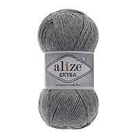 Alize Extra - 21 серый меланж