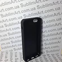 Чехол для 2D сублимации резиновый (TPU) Iphone 5/5S черный