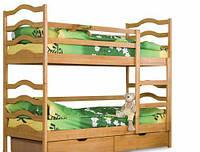 Двухъярусная кровать София (с ящиками)
