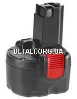 Аккумулятор BOSCH 9,6V 1,5 AЧ O-PAС (2607335540)