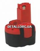 Аккумулятор BOSCH 9,6V 2,6 AЧ O-PAСК (2607335682)