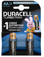 Батарейка Duracell Turbo Max AA/LR06 BL 2шт