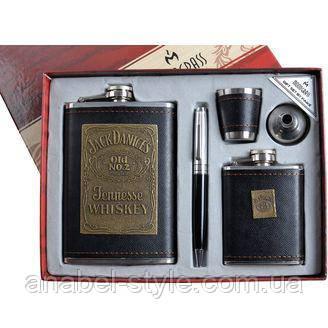"""Подарочный набор """"Moongrass"""" 5в1 Фляги, Ручка, Рюмка, Лейка DJH-1029 9283 СО, фото 2"""