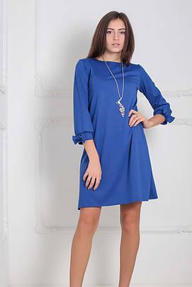 Трикотажне синє плаття Emma (XS-XXL)