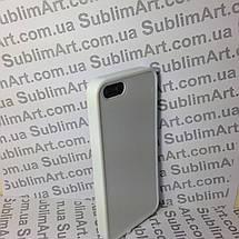 Чехол для 2D сублимации резиновый (TPU) Iphone 5/5S белый, фото 2