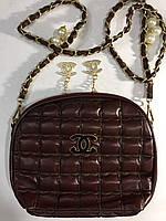 Сумочка Chanel коричневая 0054