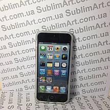 Чехол для 2D сублимации резиновый (TPU) Iphone 5/5S прозрачный, фото 2