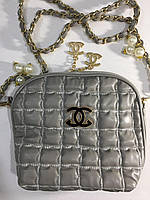 Сумочка Chanel серая 0054