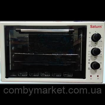 Духовка SATURN ST-EC3801 WHITE, 42 л, 1.5 кВт, Гриль