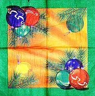 Салфетки декупажные Новогодние шары 331