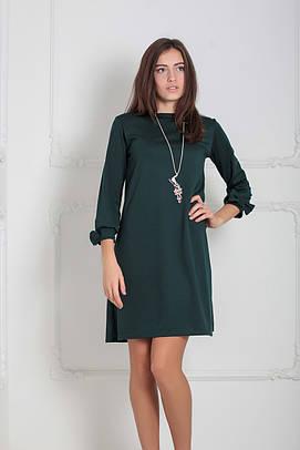 Трикотажне темно-зелене плаття Emma (XS-XXL)