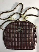 Сумочка Chanel коричневая 0053