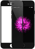 Защитное 3D стекло Mitsubishi Asahi Glass Full Cover для  iPhone 6 Plus Black