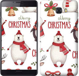 "Чехол на Samsung Galaxy C9 Pro Merry Christmas ""4106c-720-328"""