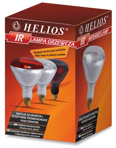 ІR1 230  250 W Е27 R125RB  (по 20 шт)   інд уп Helios