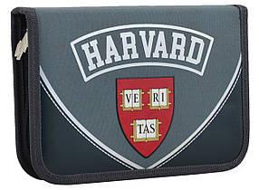 Пенал школьный Yes одинарный с клапаном Harvard
