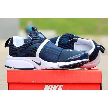 Кроссовки мужские NIKE Air PRESTO EXTREME White/blue синие, фото 2