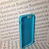 Чехол для 2D сублимации резиновый (TPU) Iphone 5/5S голубой