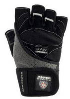 Перчатки атлетические Power System Raw Power Black-Grey - L