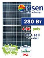Risen RSM60-6-280P half-cell солнечная панель (батарея) поликристаллическая