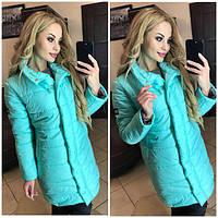 Куртка женская ⤵Синтепон 200  ⤵Змейка и кнопки внутри  ⤵Супер качество  много расцветок дсмир №0089