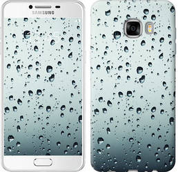 """Чехол на Samsung Galaxy C7 C7000 Стекло в каплях """"848c-302-328"""""""