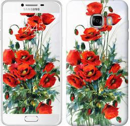 "Чехол на Samsung Galaxy C7 C7000 Маки ""523c-302-328"""