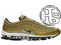 6ba75129 Женские кроссовки Nike Air Max 97 QS OG Metallic Gold/Varsity Red/White  885691