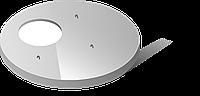 Плита перекрытия колодца 3-ПП 20.2-1
