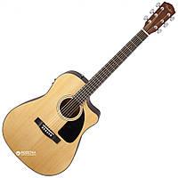 Электроакустическая гитара Fender CD-60SCE NAT