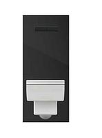 Модуль TECElux200 для подвесного унитаза, черные кнопки